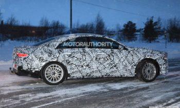 Mercedes CLA spied, electric Ferrari confirmed, V-8 Defender revealed: Car News Headlines