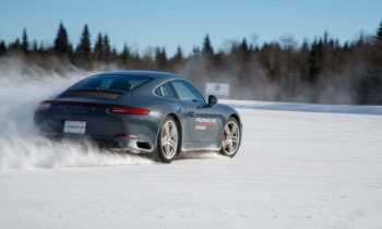 Learning the unnatural at Porsche's Camp4 winter driving school