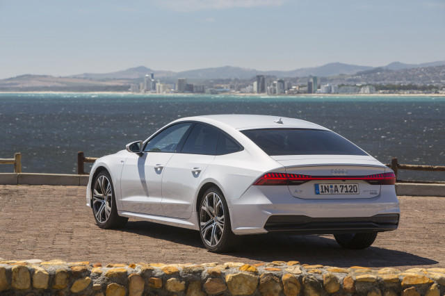 2019 Audi A7, January, 2018 media drive, Cape Town, South Africa,