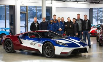 """Ford employees can choose exclusive """"Victory"""" paint scheme for GT"""