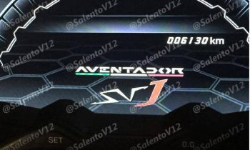 2020 Lamborghini Aventador SVJ spy video