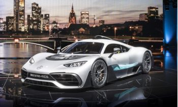 Mercedes-AMG Project One should generate around 1,500 pounds of downforce