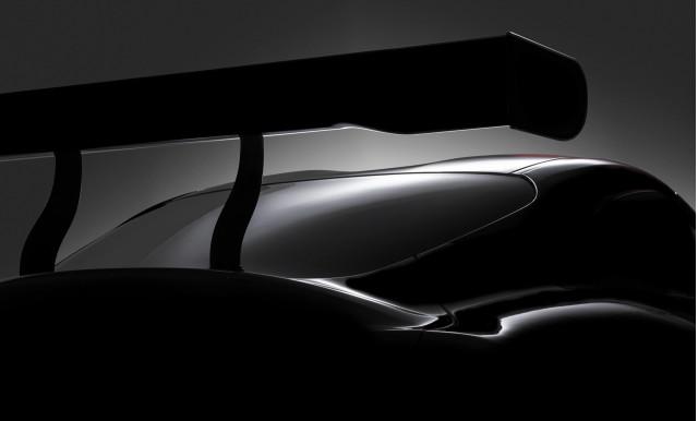 Teaser for Toyota Supra race car concept debuting at 2018 Geneva auto show