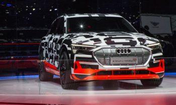 Audi e-tron prototype makes Geneva auto show appearance