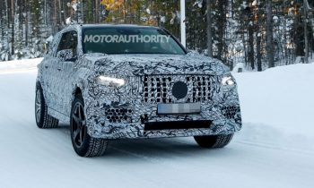 2020 Mercedes-AMG GLS63 spy shots