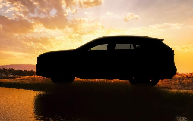 Teaser for 2019 Toyota RAV4 debuting at 2018 New York auto show