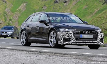 2019 Audi RS 6 Avant spy shots