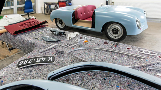 Porsche replicated its 356 No 1 Roadster