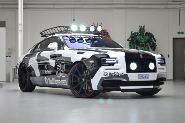 Jon Olsson's 810-hp Rolls-Royce Wraith is for sale