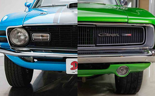 Charger, Mustang are America's most-searched muscle cars