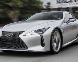 2018 Lexus LC500 Hot Lap! – 2017 Best Driver's Car Contender