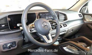 2019 Mercedes-Benz GLE interior leaked