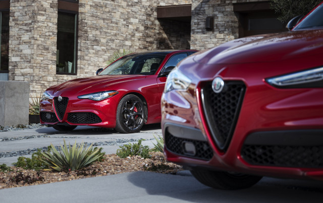 2019 Alfa Romeo Giulia and Stelvio equipped with Nero Edizione package
