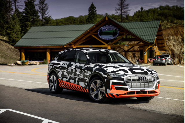 2019 Audi e-tron prototype drive, Pikes Peak