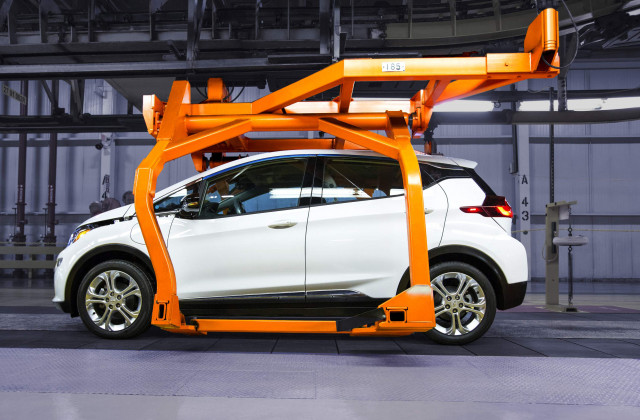 2017 Chevrolet Bolt EV pre-production