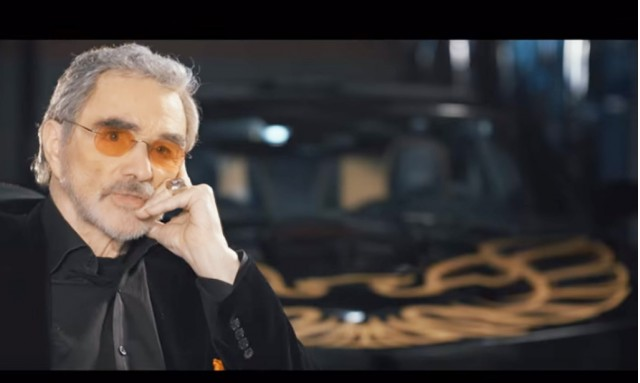 Burt Reynolds and the Trans Am SE Bandit Edition