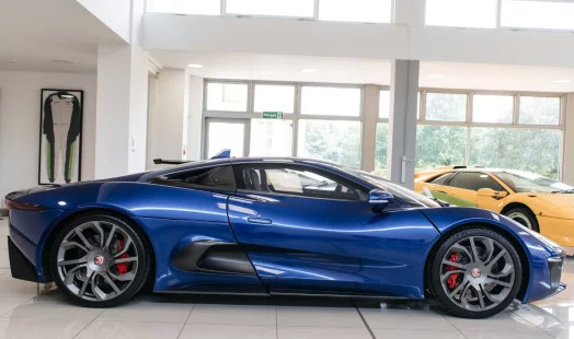 2016 Jaguar C-X75 from Spectre is for sale