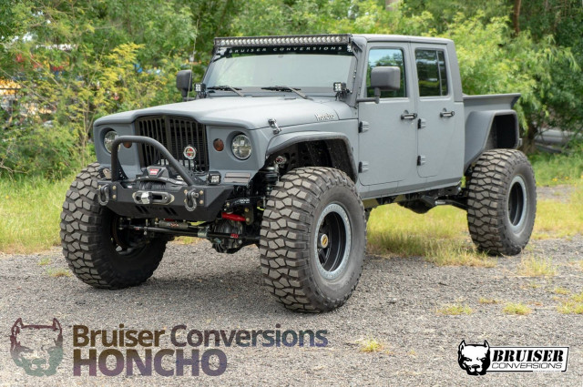 Jeep Wrangler Honcho Bruiser Conversion
